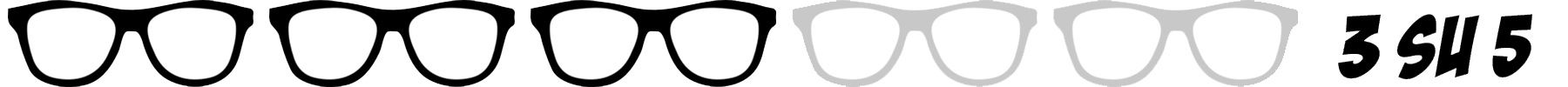 occhiali nerd 3 su 5