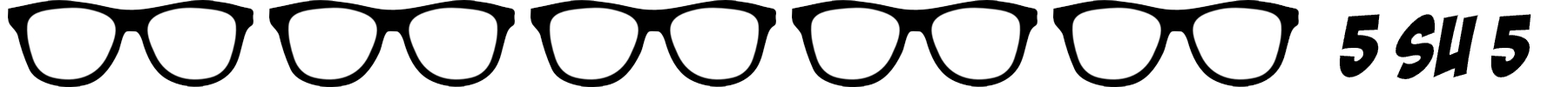 occhiali nerd 5 su 5