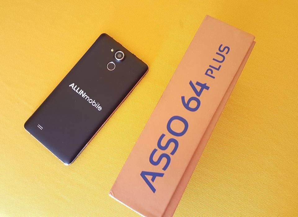 Asso 64 Plus: Smartphone targato Allinmobile