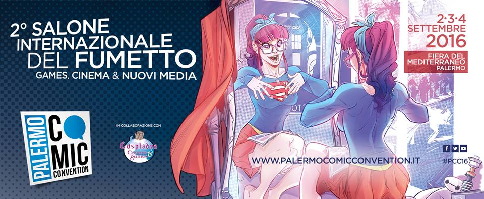 Nerd Attack ospite al Palermo Comic Convention!