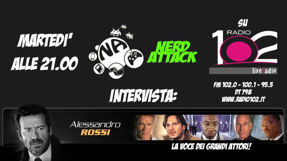 Alessandro Rossi intervistato da Nerd Attack!