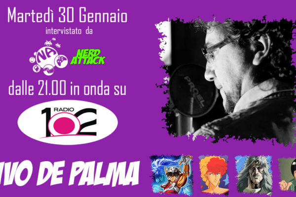 ivo de palma intervista nerd attack radio102