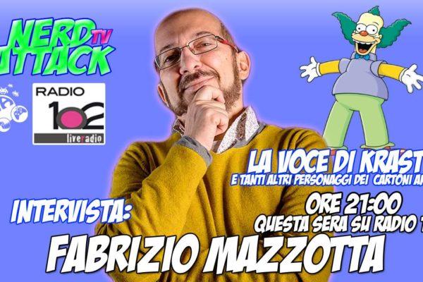 Fabrizio Mazzotta ospite di Nerd Attack