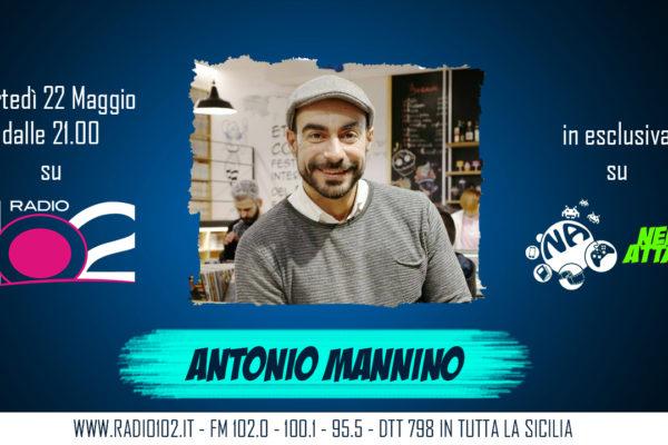 ANTONIO MANNINO DIRETTORE ETNA COMICS NERD ATTACK INTERVISTA